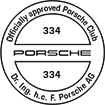 Officially approved Porsche Club 334